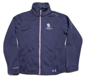 Under Armour Storm Wounded Warrior Project COLDGEAR Pile Fleece Jacket Small Wmn