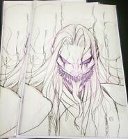 Venom #27 PEACH MOMOKO Sketch NM Hot!!!! KNULL 1st CODEX!  Marvel