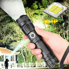 High Power 990000LM LED Flashlight XHP70 Tactical Zoomable Police Torch Light
