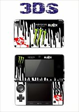 SKIN STICKER AUTOCOLLANT DECO POUR NINTENDO 3DS REF 9 BLOCK