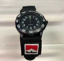 Marlboro Tobacco Quartz Wrist Watch Advertising Collectible New In Box