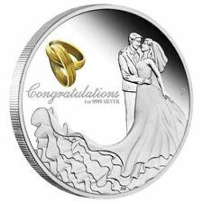 2019 Wedding 1oz. Silver Proof Coin