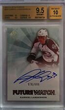 (HCW) 2011-12 SP Authentic GABRIEL LANDESKOG Auto RC BGS 9.5 - #/999 BGS 10 Auto