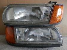 1990 95 JDM NISSAN PRIMERA P10 ZENKI HEADLIGHT SET W CORNER LIGHT RARE ITEM OEM