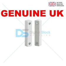 5 Burglar Alarm Door Contacts, White Surface 5 Terminal Magnetic Contact Type.