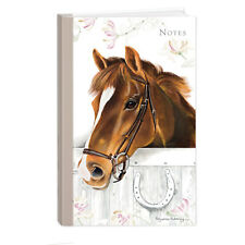 Quality Horse Equestrian Themed Hardcover Lined Notebook A5 Perfect Gift