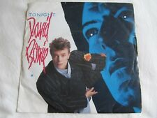 "David Bowie ‎– Tonight    7"" vinyl"