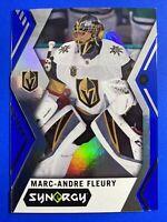 2017-18 Upper Deck Synergy Blue #31 Marc Andre Fleury Vegas Golden Knights