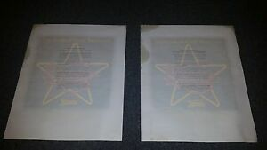Vintage Amtrak Iron On Transfers for T-Shirts. Broadway Limited Lot of 20