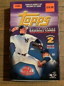 1999 Topps Series 2 Baseball Retail Box Sosa HR Cards