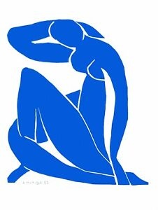 Henri Matisse - Blue Nude II (signed lithograph, edition of 200)