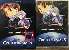 Crest of the Stars: The Complete Series DVD + Digital NEW SEALED WITH SLIPCOVER