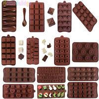 34 Shapes Silicone Cake Decorating Mould Candy Cookies Chocolate Baking Mold
