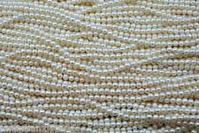 4-5mm White Cultured Akoya Sea Pearl Loose Bead 15''