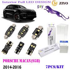 7Lamps LED Interior Light Kit Super White 6000K Fit 2014-2016 Porsche Macan(95B)