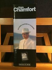 Alain Chamfort Receuil best of accords guitare et claviers partition I.D. Music