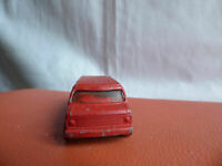 VINTAGE CORGI JUNIORS RED U.S.CHEVY CHEVROLET  VAN DIECAST CAR TOY