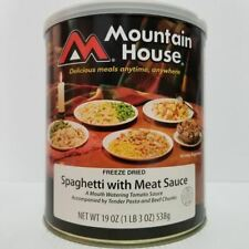 Mountain House Freeze Dried Food Spaghetti with Meat Sauce #10 Can