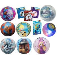 Licensed Kids Beach Balls, PAW Patrol, Princess, Avengers Swim Inflatable Ball