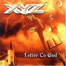 XYZ - Letter To God - CD [Terry Ilous / Sean McNabb / JK Northrup / Paul Monroe]