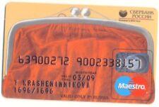 Russia Maestro Credit Card Sberbank