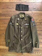 WWII ETO CommZone Medic Uniform 40R Medical Hospital