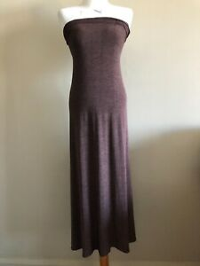 Issey Miyake brown maxi skirt/dress, pre loved, size M