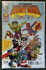 Marvel Secret Wars #4 PX Exclusive SDCC Mini Mates Variant 2015