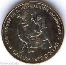 Canada 1 Dollaro 1988 argento BU @@ Herreros @@