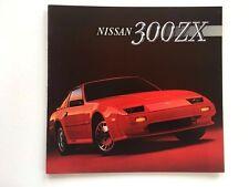 1986 Nissan 300-ZX 300ZX Turbo 22-page BIG SIZE Original Sales Brochure Catalog