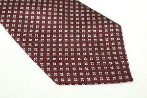 HOLLIDAY BROWN Silk tie Made in England F16493  man