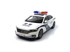 1:18 Volkswagen All New Passat police car 2019 Die-Cast Metal Model
