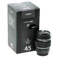 Olympus 45mm F1.2 Pro (Negro) Lente de cámara-Reino Unido el próximo Día de prestación