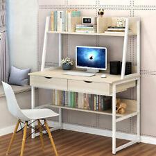 Corner Small Computer Desk Drawer Laptop PC Table Home Office Executive Desktop