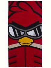 Angry Birds Badetuch/Strandtuch/Handtuch/Badelaken 140x70 RED BIRD GO AHEAD
