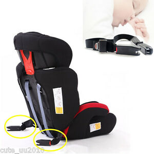 New Stop Car Seat Safety Fixed Belt Harness Chest Strap No More Escapes Kid Baby