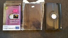 Choice of PU leather stand case cover to fit Google Nexus 7 inch 1st gen tablet