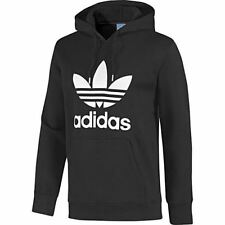 adidas Cotton Patternless Hooded Jumpers & Cardigans for Men