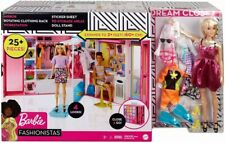 Barbie GBK10 Dream Closet with Accessories and Doll