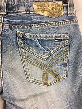Tommy Hilfiger Denim Heritage Women's Jeans Sally Distressed Blue Jeans Sz 27x32