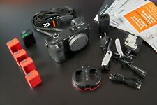Sony Alpha a6500 24.2MP Digital Camera - Black (Body Only) + Batteries and Bags