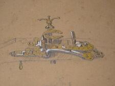 Emmanuel LAURET (1809 -Toulon 1882) DESSIN ORIENTALISTE FUSIL ARME ALGERIE 1860