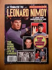 A Tribute to Leonard Nimoy—Special Collector's Edition—Faces magazine—Star Trek