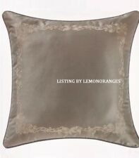 Nip Waterford Linens Darcy Embroidered Euro European Pillow Sham