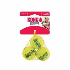 KONG SqueakAir Tennis Balls Squeaky Dog Toy Fetch-Extra Small Small Medium Large