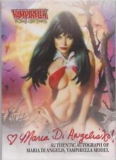 "Vampirella - VA-MD ""Maria Di Angelis"" Autograph Card"