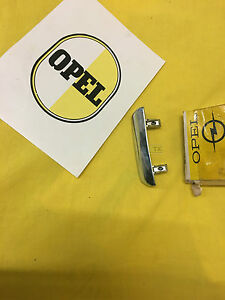 New + Original Opel Rekord C Commodore A Handle Tailgate Chrome Trunk Lid NOS