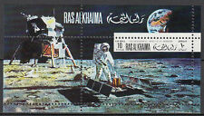 Ras al Khaima 1970 ** Bl.91 A Weltraum Space Mond Moon Kennedy JFK