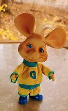 RARE  1960's Topo Gigio Mouse Ed Sullivan Show Removable Clothes Brazil