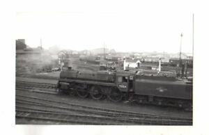 Rail Photo std 460 73004 Watford shed Hertfordshire LMS LNWR